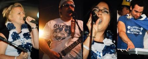4 chanteurs